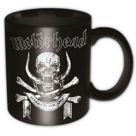 Motorhead March Or Die Mug